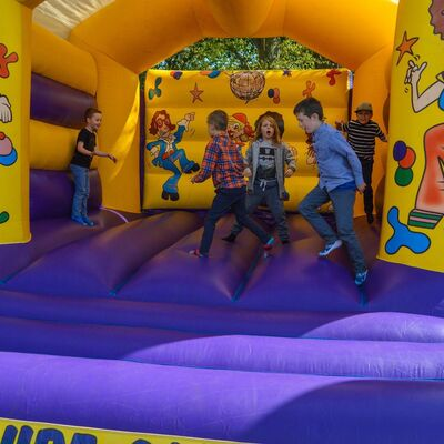 Entertainment bouncy castle